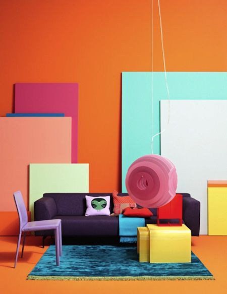 Color Stories by Photographer Jonas von der Hude on the AphroChic Blog. #colors #deco