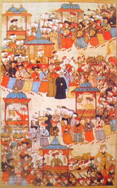OĞUZ TOPOĞLU : esnaf locaları geçiş töreni minyatürü levni surnam...