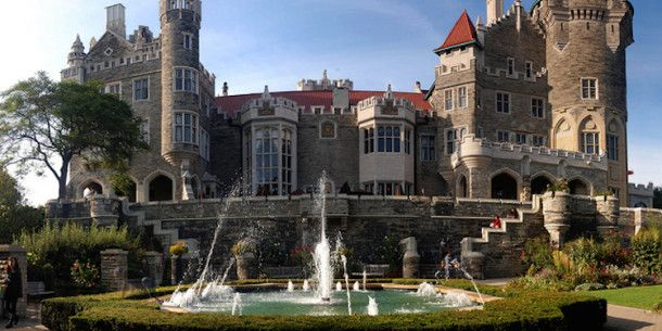 Next time we're in Toronto: Casa Loma is one of North America's most beautiful castles