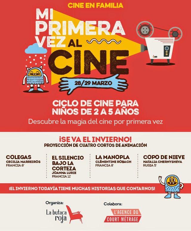GASTRONOMÍA EN ZARAGOZA: Ciclo de cine para niños de 2 a 5 años. En el Cent...