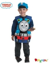 Boys Cartoon Character Costumes - Thomas the Tank Engine Candy Catcher Costume