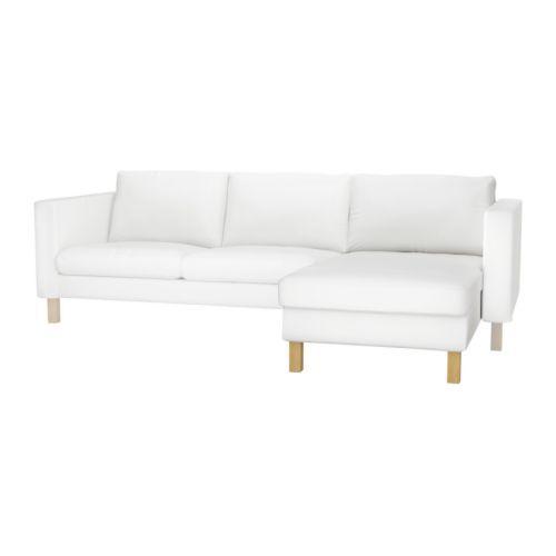 KARLSTAD Chaise longue, módulo adicional IKEA Encosto reclinável com 3 posições diferentes; escolha a mais confortável para si.