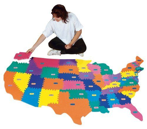 110 best jesse robinson images on pinterest for the home live giant foam puzzle map by flaghouse 4195 easy to clean hands on sciox Image collections
