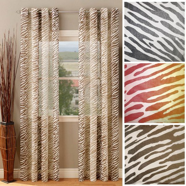 Cheap White Curtain Rods Zebra Giraffe Leopard Curtains