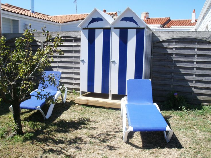 17 best images about abri de jardin on pinterest gardens chalets and search - Cabine de plage exterieur ...