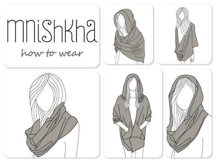 # Mnishkha # How to wear!