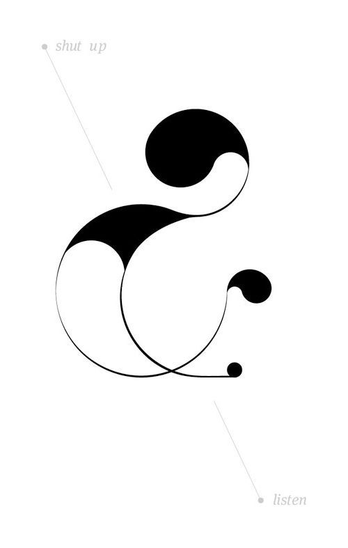 30 Magnificent and Inspirational Ampersand Illustrations | The Inspiration Blog