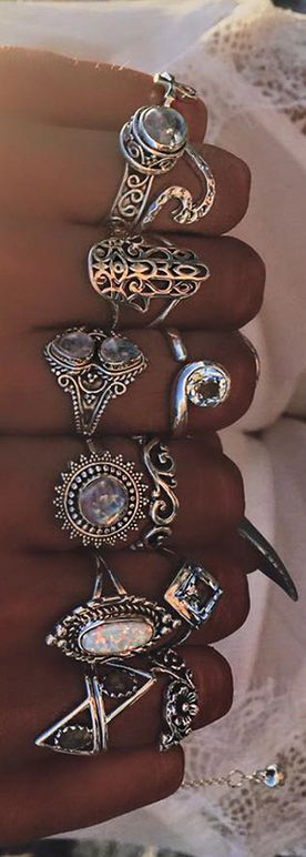 We love Rings - WOW!! - SUCH A FABULOUS COLLECTION, ALL BEAUTIFUL!!