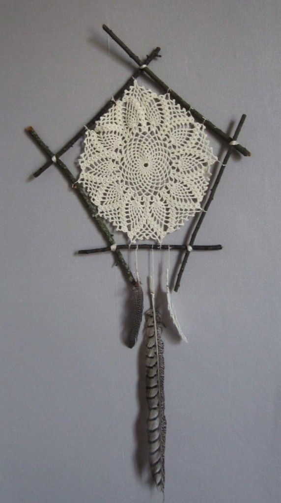 Comment faire un dreamcatcher attrape r ve maison avec - Faire attrape reve ...