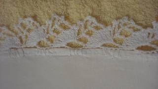 orillas para servilletas tejidas de una sola vuelta - YouTube
