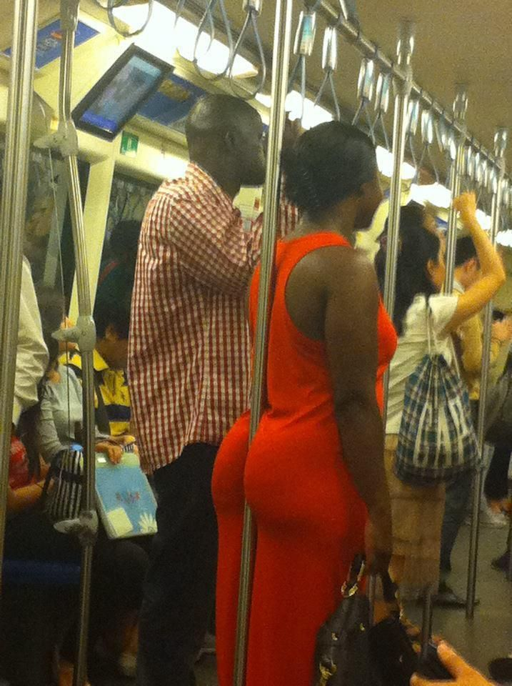 just an average trip on the metro