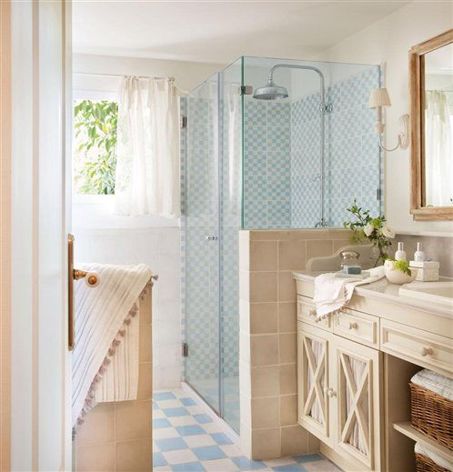 Best Use Of Half Walls In Bathrooms Images On Pinterest Half