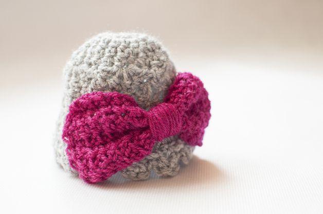 Crochet newborn hat