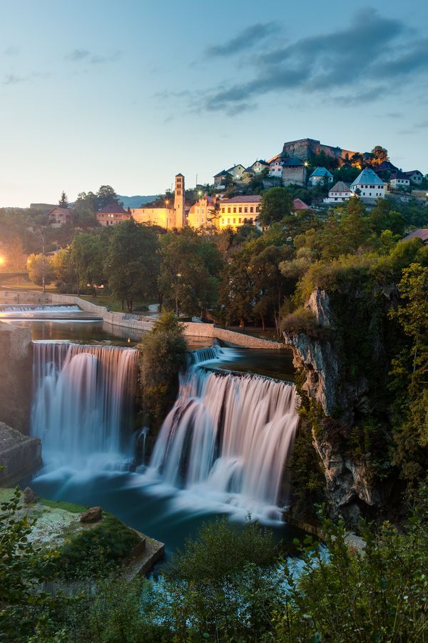 Water city Jajce, Bosnia and Herzegovina