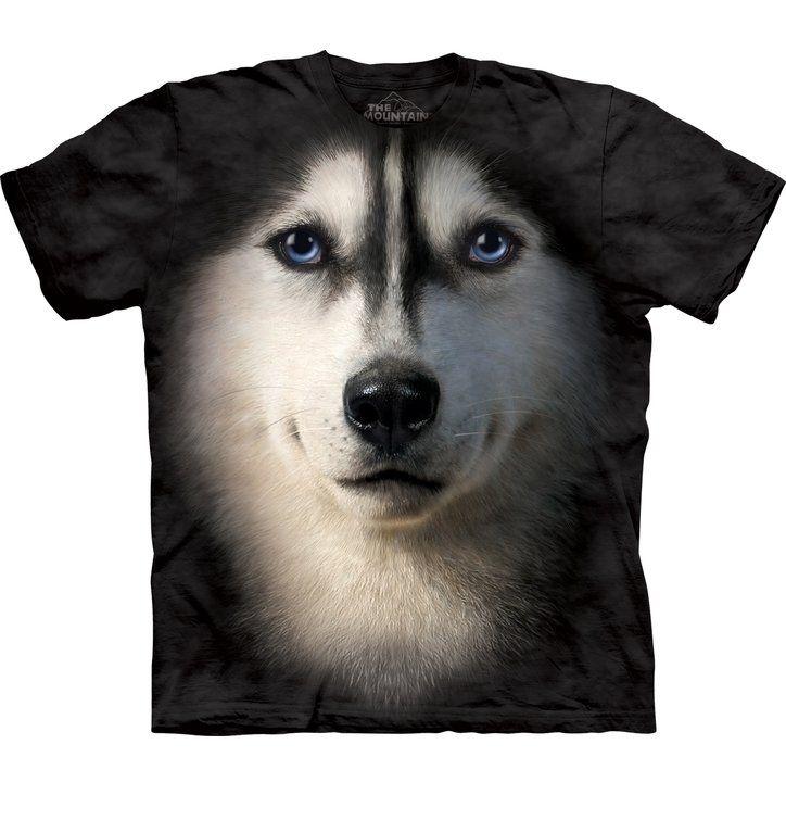 Szibériai husky póló