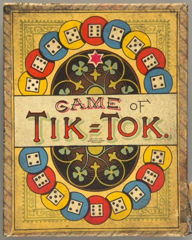 107.3308: Game of Tik-Tok | board game | Board Games | Games | National Museum of Play Online Collections | The Strong