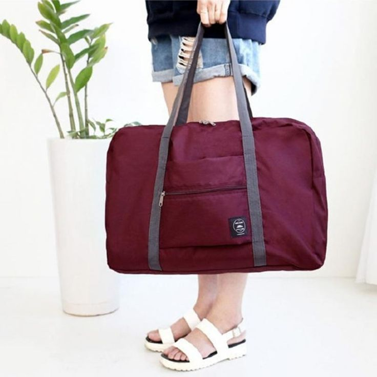 Folding Cube Duffel Bag