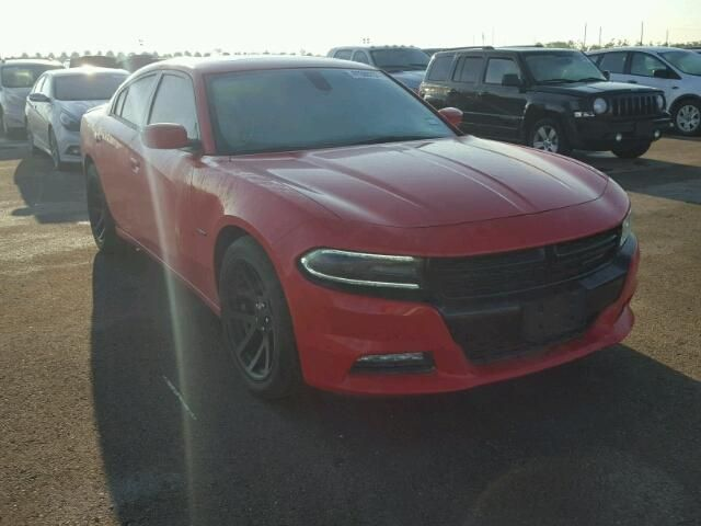 Salvage 2015 Dodge Charger Rt Sedan For Sale | Flood Title