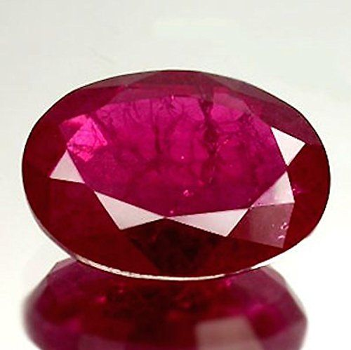 Jaz77 Lab Created Synthetic Ruby Corundum With Visible