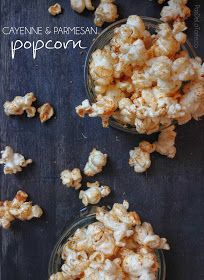 Healthy Snack Alert! Cayenne & Parmesan Popcorn — PasDeLaTarte.Ca
