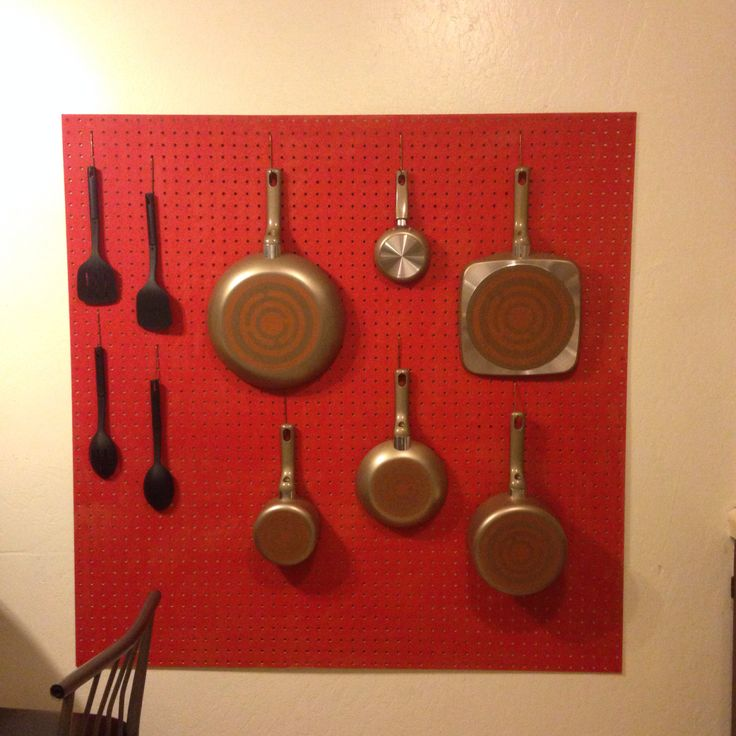 My Pegboard My Kitchen Projects Pinterest