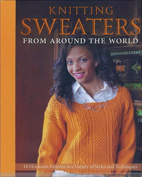 Knitting Sweaters from Around the World 提花 (1) - 紫苏 - 紫苏的博客