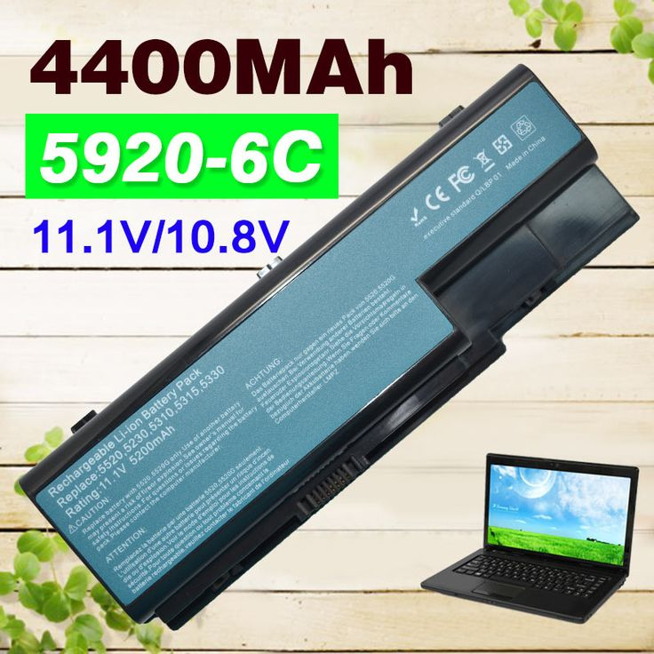 4400mAh laptop battery AS07B31 AS07B41 for Acer Aspire 5520 5520G 5530 5710 5715Z 5720 5739  5920  5920G 5930 AS07B32 AS07B42