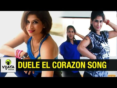 Enrique Iglesias | DUELE EL CORAZON | Zumba Dance On DUELE EL CORAZON Song | Vijaya Tupurani - YouTube