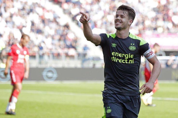 TIL: Marco van Ginkel is PSV's captain for the 2017/18 campaign.