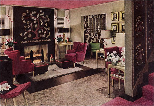 Modern Living Rooms World War II And Modern Living On Pinterest