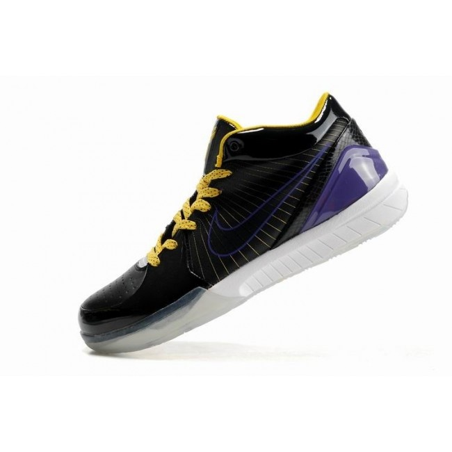 Popular Nike Zoom Kobe IV Mens Basketball Shoes - Black/Yellow $66 http:/ � Kevin  Durant ...