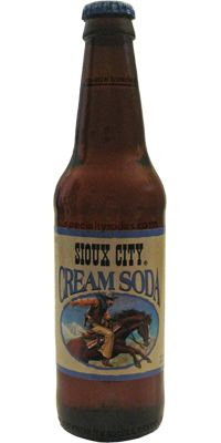 Sioux City: Cream Soda | #soda #cream