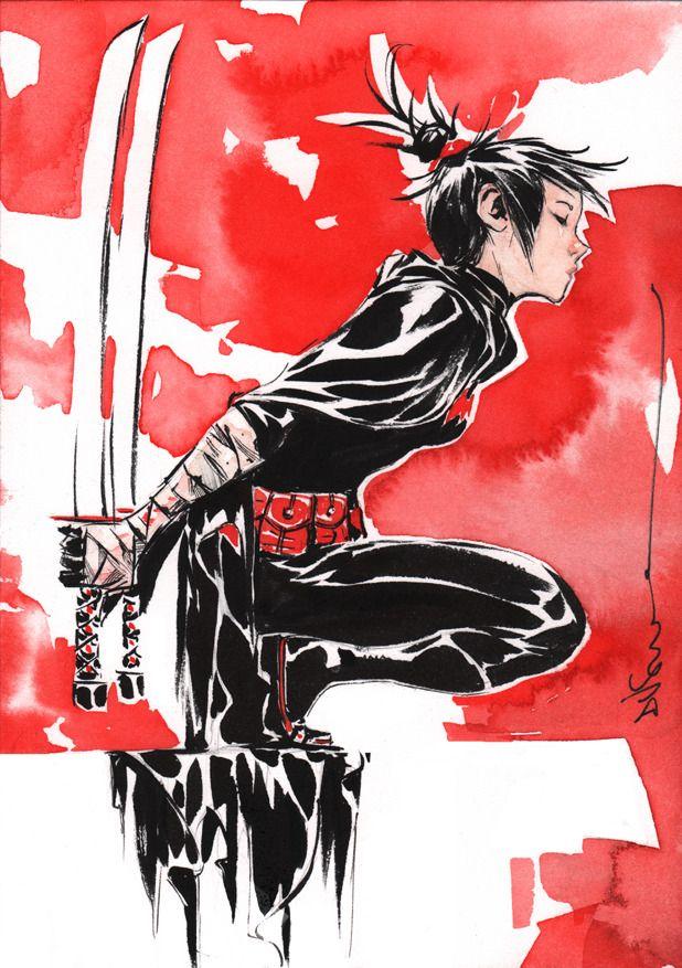 Cassandra Cain by Dustin Nguyen