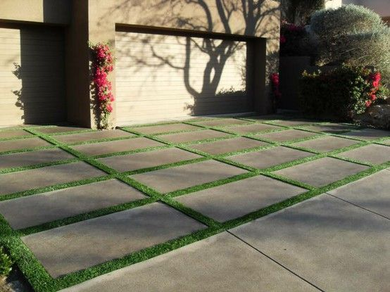 82 best for the homedrivewaysstepping stones and walkways images the styled life grass driveways solutioingenieria Image collections