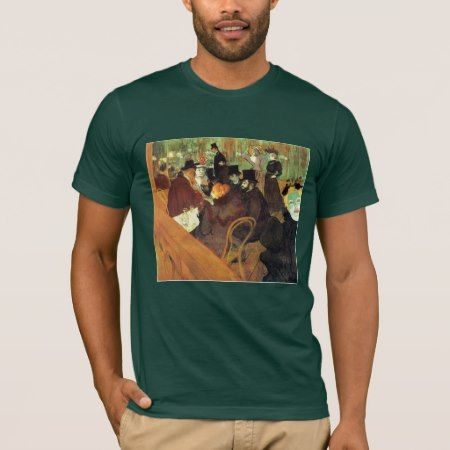 Lautrec: At the Rouge T-Shirt - click to get yours right now!