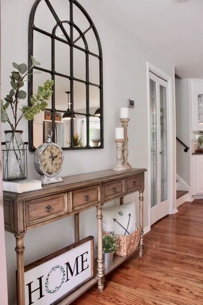 34 awesome small entryway decor ideas entryway on small entryway console table decor ideas make a statement with your home s entryway id=38474