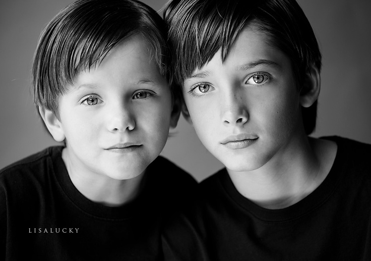 Beautiful sibling portraits