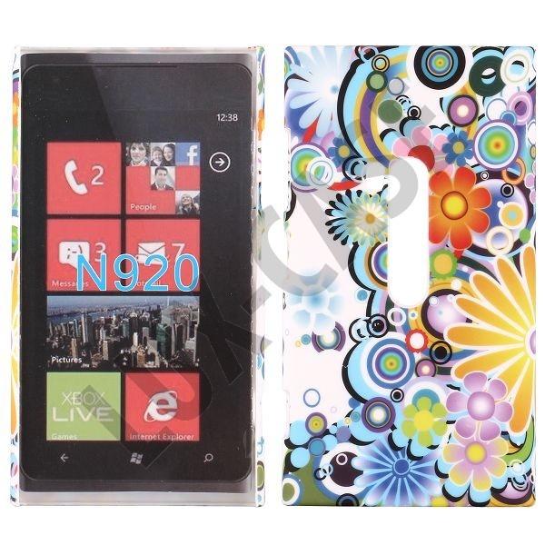 Valentine (Rainbow Flowers) Nokia Lumia 920 Deksel
