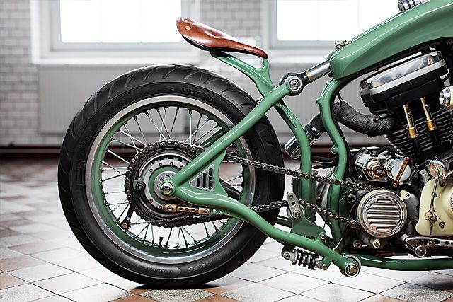 '88 Harley Sportster – Adam's Custom Shop  |  Pipeburn.com