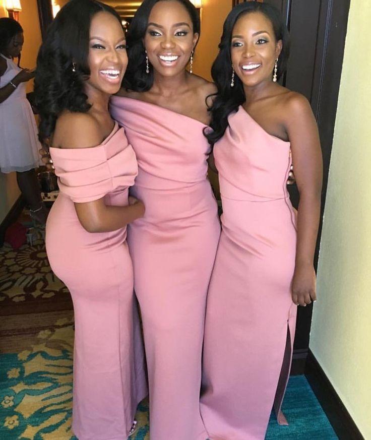 Mejores 78 imágenes de Wedding Bridesmaids en Pinterest | Damas de ...