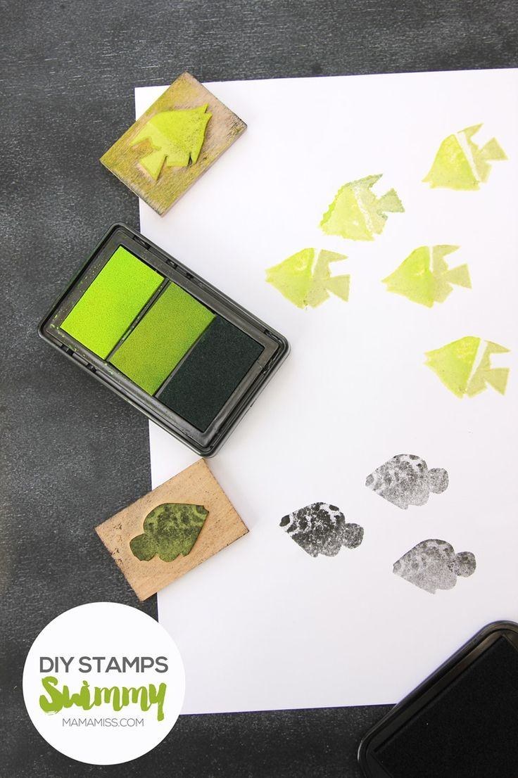 Make some super simple DIY stamps with everyday materials.