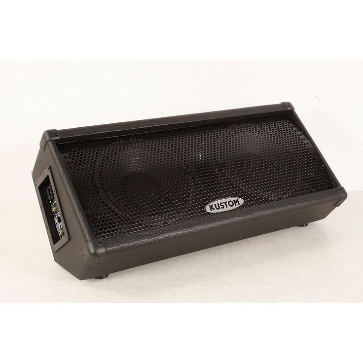 "Kustom KPC210MP Dual 10"" Powered Monitor Speaker Regular 888366072738"