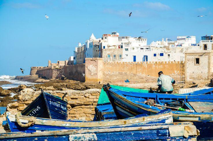 Dans le port d'#Essaouira. #Maroc