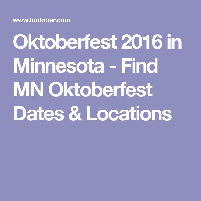 Oktoberfest 2016 in Minnesota - Find MN Oktoberfest Dates & Locations