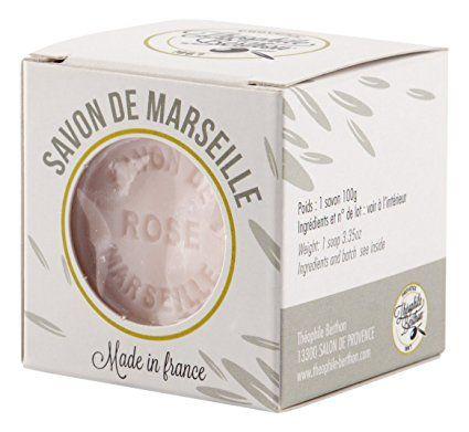 Théophile Berthon Traditionnel Savon de Marseille le Cube Parfum Rose 100 g