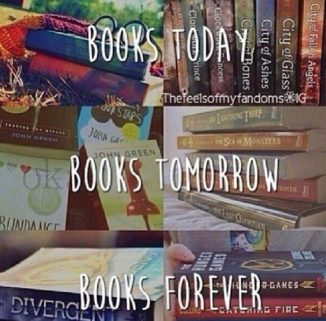 Books forever.