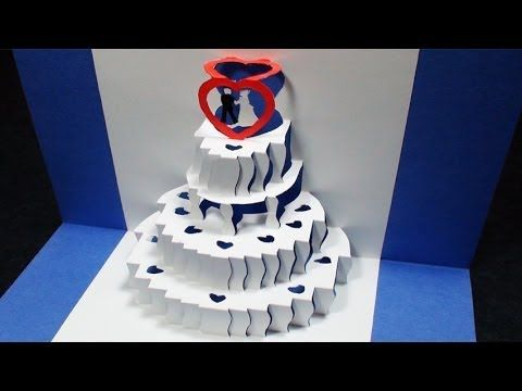 how to make a wedding cake card box with fabric 15 best images about pop up cards on 15886