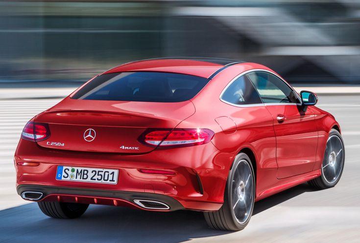 Mercedes benz c 250 d 4matic coup amg line c205 39 2015 - Mercedes c class coupe 4matic ...