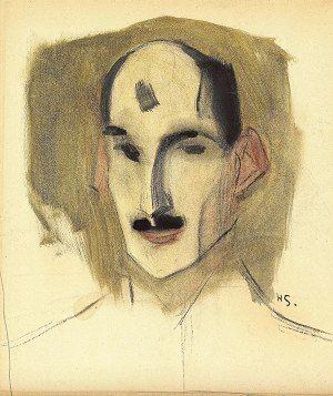 Helene Schjerfbeck, Miekkailija 1924