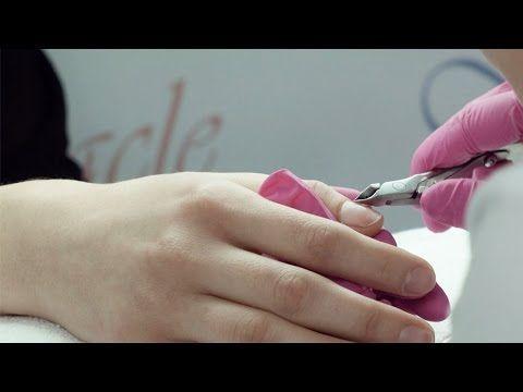 Miracle Nails - Stylizacja paznokci - Przygotowanie płytki paznokciowej - Fragment szkolenia - YouTube
